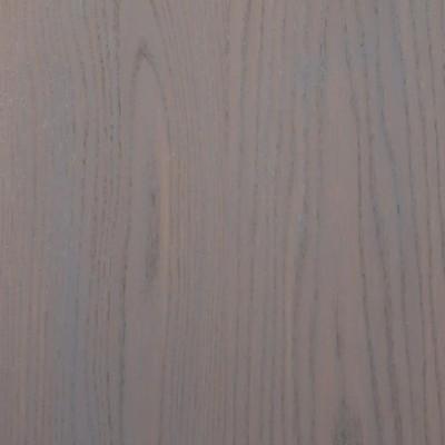 Parquet massif chêne rouge de la Dombe huilé ciré gris